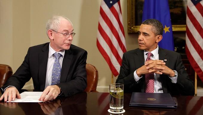 Van Rompuy- Obama