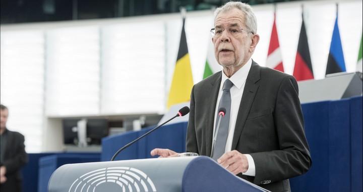 Le nouveau président autrichien Alexander Van der Bellen