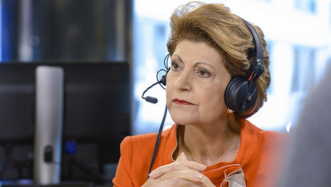 Androulla Vassiliou, commissaire européenne chargée du sport