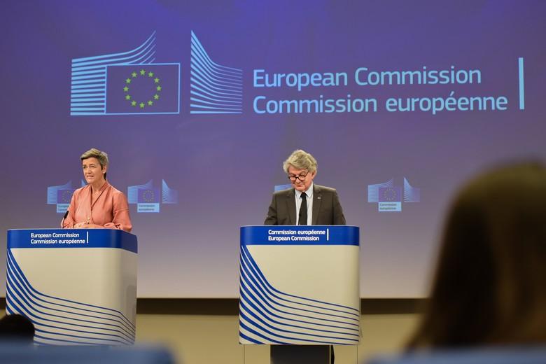 Mercredi 17 juin, Margrethe Vestager, commissaire à la Concurrence et Thierry Breton, commissaire au Marché intérieur, ont présenté un livre blanc visant à protéger les entreprises européennes de la concurrence étrangère déloyale