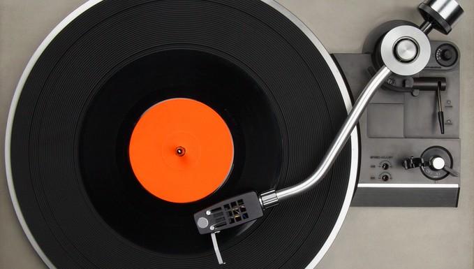Platine de vinyl