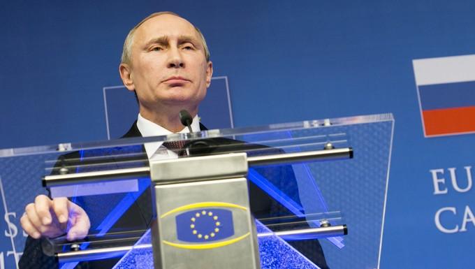 Vladimir Poutine - visite Bruxelles 28 janvier 2014