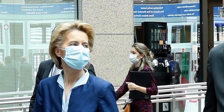 La Commission européenne a dû réagir à la crise du coronavirus en Europe - Crédits : Commission européenne