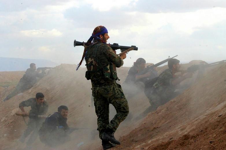 L'offensive turque en Syrie vise les combattants kurdes du YPG, engagés ces dernières années contre Daesh (ici en 2016) - Crédits : Kurdishstruggle /Flickr
