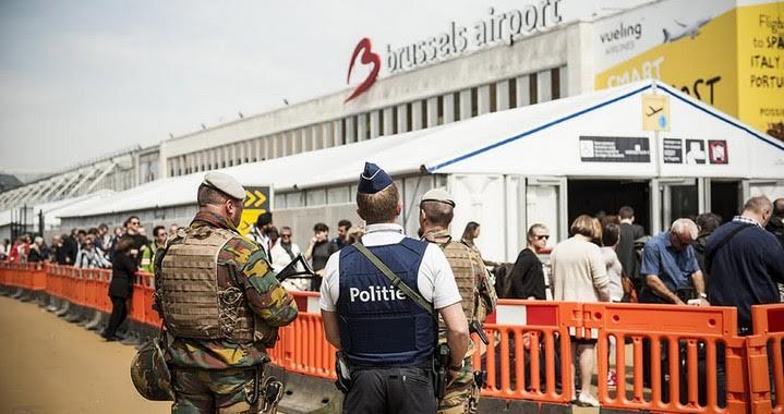 Aéroport de Bruxelles (c) Lavinia Wouters