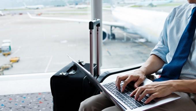 Aéroport laptop