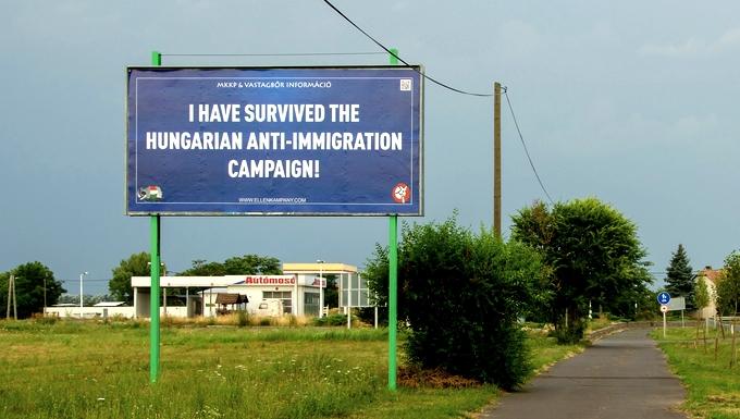Affiche quotas immigration