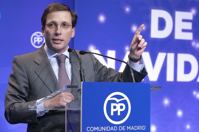Le nouveau maire de Madrid José Luis Martinez-Almeida - Crédits :  PP Comunidad de Madrid / Flickr