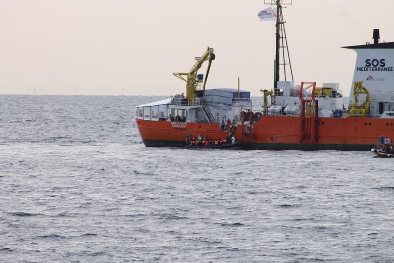 Le navire humanitaire Aquarius