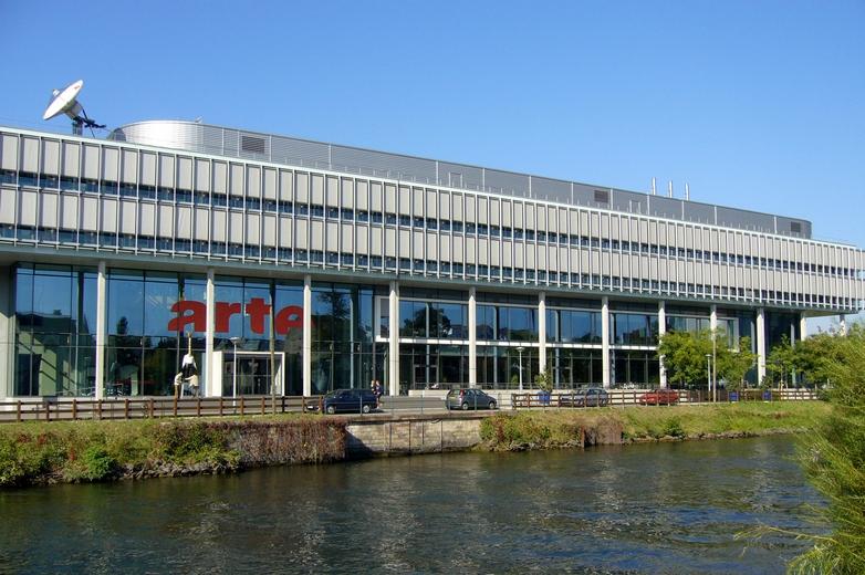 Le siège d'Arte à Starsbourg