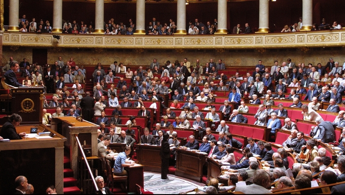 Hémicycle de l'Assemblée nationale (c) Parti socialiste