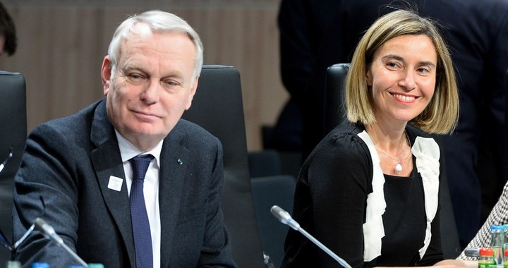 Jean-Marc Ayrault et Federica Mogherini