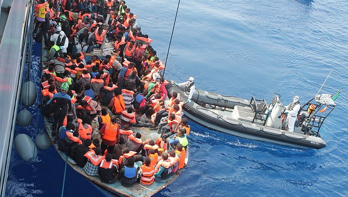 bateau migrant