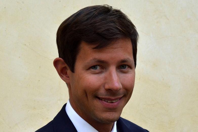 La tête de liste LR François-Xavier Bellamy - Crédits : compte Facebook @fx.bellamy