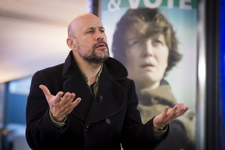 Benedikt Erlingsson, le réalisateur islandais du film Woman at war, lauréat du prix Lux 2018 - crédits : Benoit Bourgeois / Parlement européen