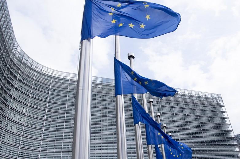 Drapeaux commission européenne