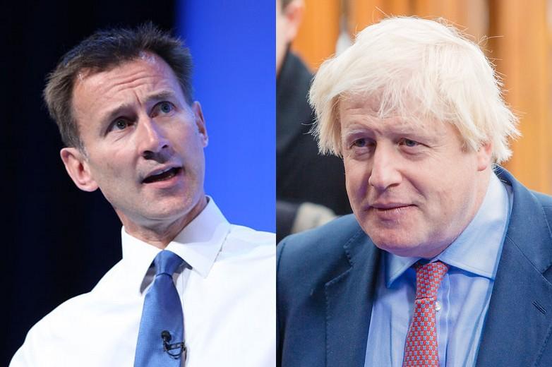 Jeremy Hunt (à gauche) et Boris Johnson (à droite) - crédits : NHS Confederation, EU2017 EE / Flickr