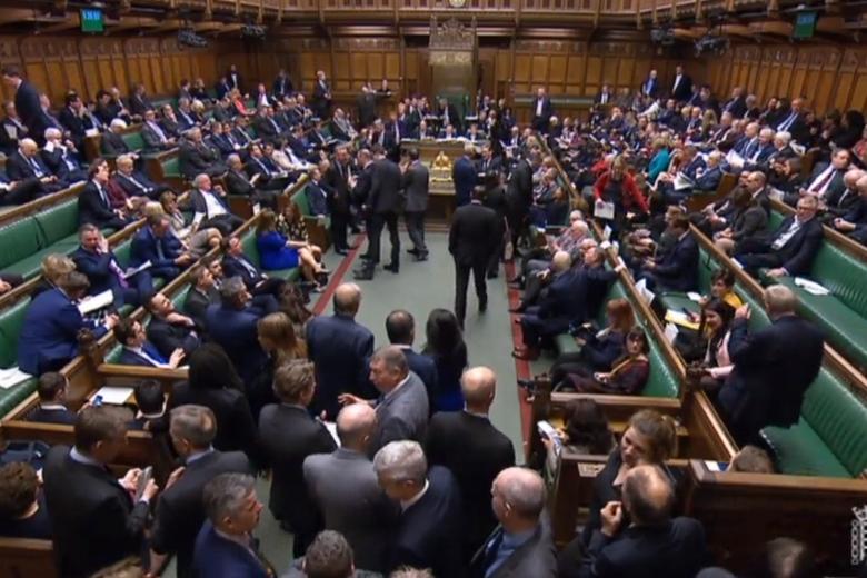Trois votes cruciaux sur le Brexit ont eu lieu en une semaine à la Chambre des communes - Crédits : Capture d'écran / UK Parliament