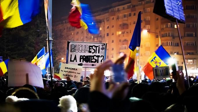 Manifestations Bucarest 2017