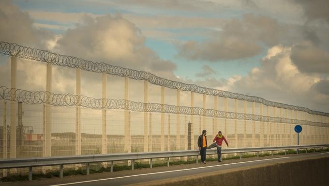 Frontière Calais accords du Touquet