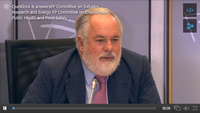 Audition Miguel Arias Canete devant le Parlement européen le 1er octobre 2014