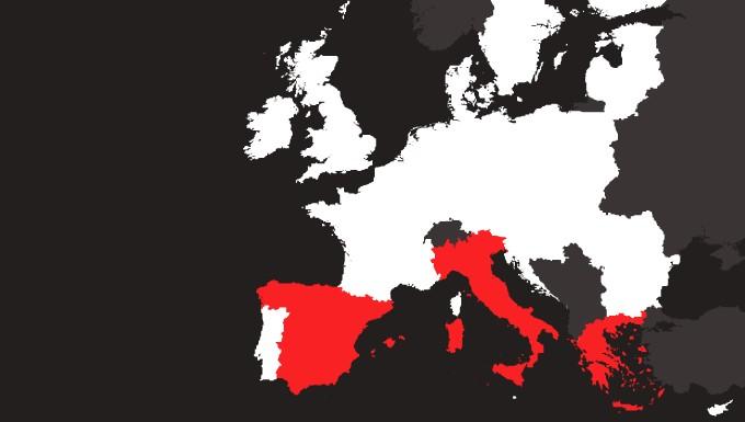 vue d'europe