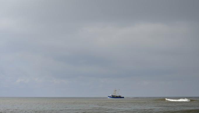Chalutier Méditerranée