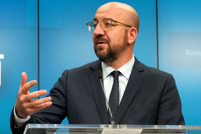 Le nouveau président du Conseil européen Charles Michel, le 13 décembre - Crédits : Union européenne