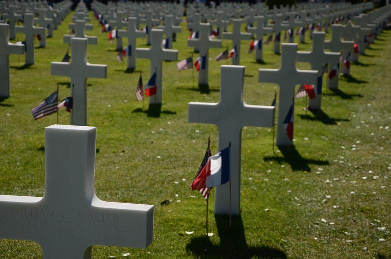 Le cimetière américain de Colleville-sur-mer - Crédits : Marie Guitton