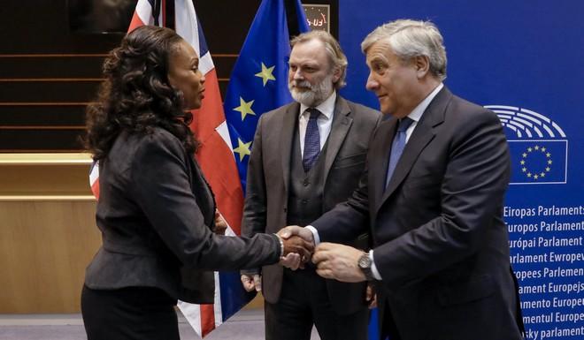 Le Comité Paris 2024 au Parlement européen
