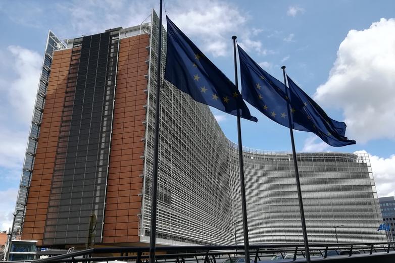Le Berlaymont, siège de la Commission européenne à Bruxelles