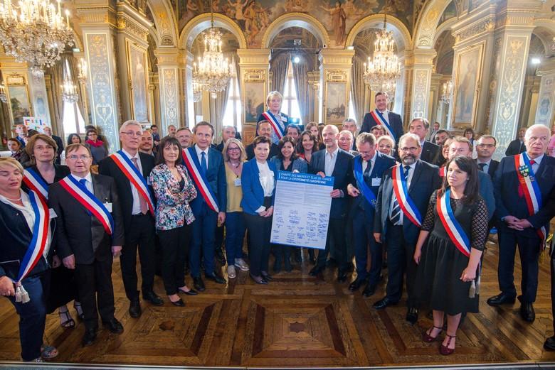 Conférence des maires - crédits : Bureau du Parlement européen en France