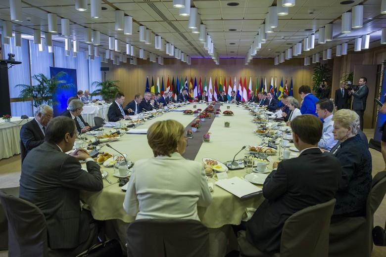 Conseil européen en octobre 2017