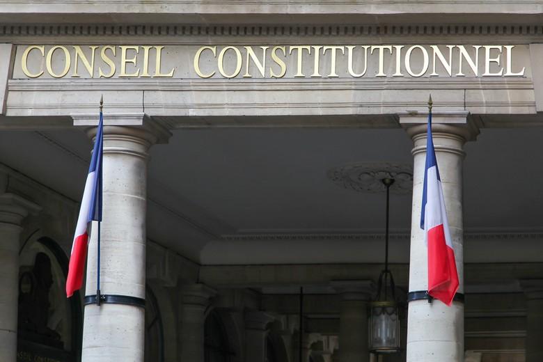 Le Conseil constitutionnel français.
