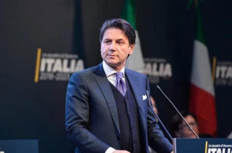 Giuseppe Conte, chef du gouvernement proposé par la Ligue et le M5S.