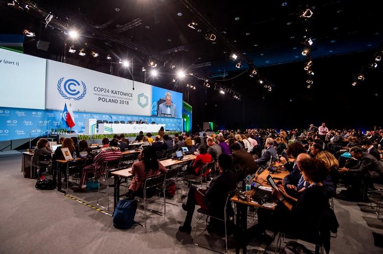 La salle de la session plénière de la COP24 - Crédits : COP24 Official