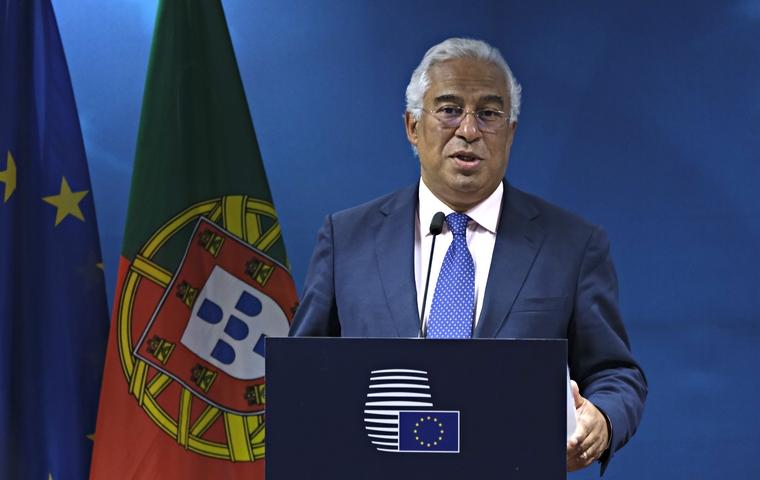 António Costa au Conseil européen le 2 juillet 2019 à Bruxelles - Crédits : Conseil européen