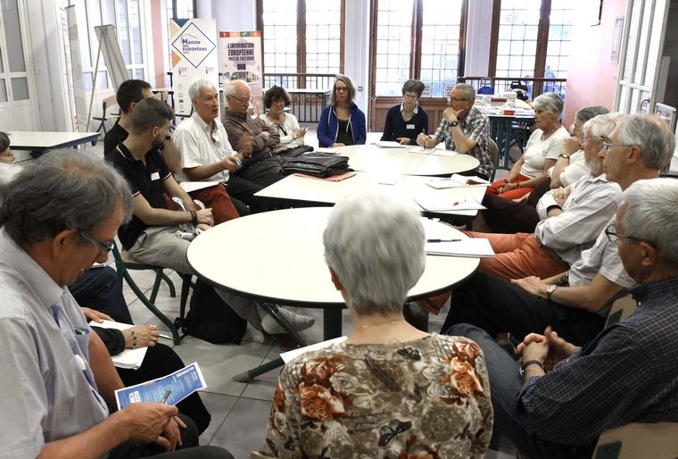 Participants au dialogue citoyen