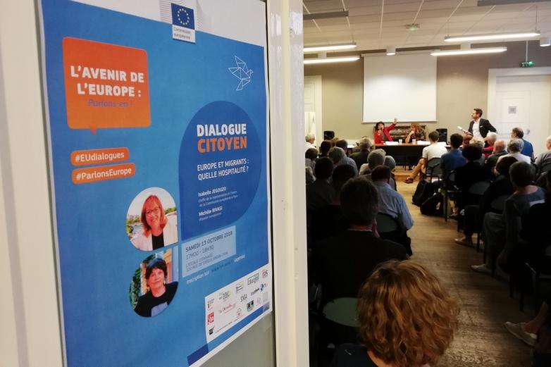 Europe et Migrations à Lyon : Renforcer les moyens des associations et mieux communiquer