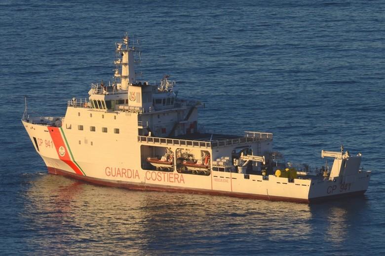 Le navire Diciotti.