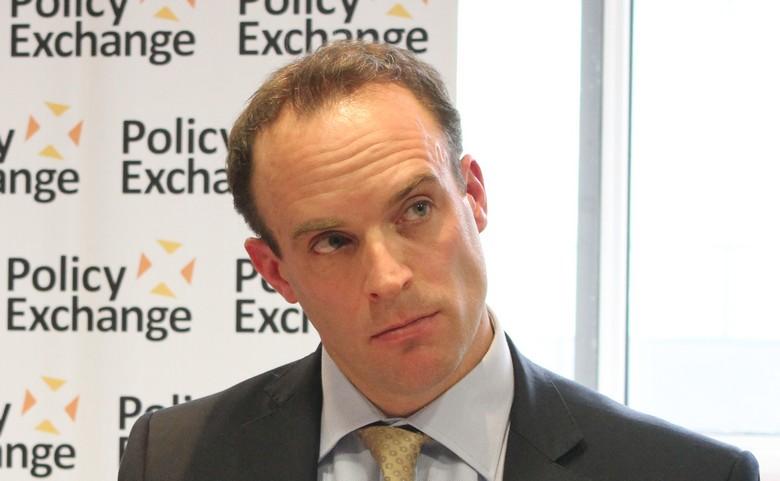 Dominic Raab, ministre britannique du Brexit.