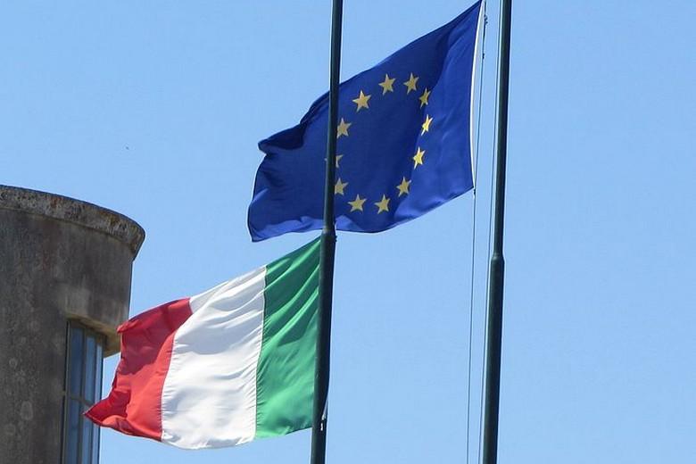 drapeaux-UE-Italie