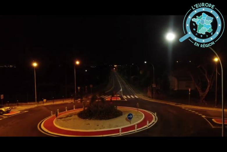 En Guadeloupe, la rénovation de l'éclairage public est financée en partie par l'UE