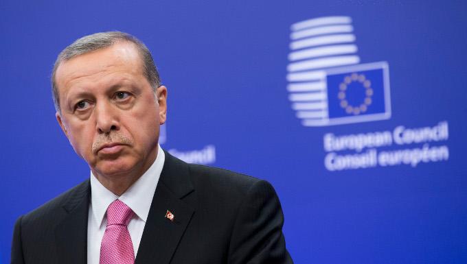 Erdogan à Bruxelles - 05/10