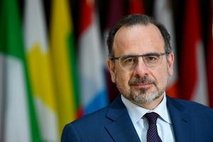 Luca Jahier, président du CESE