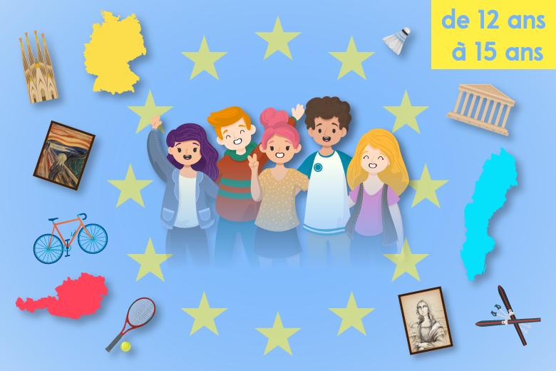 L'Europe à la maison / 12-15 ans