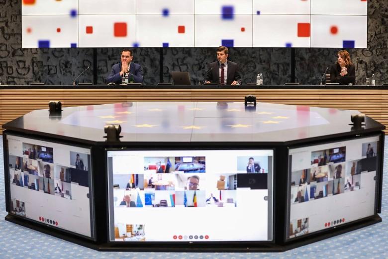 Sous la présidence du ministre des Finances croate, les ministres européens des Finances se sont réunis par visioconférence mardi 19 mai. Au cours de cette réunion, plusieurs d'entre eux ont fait part de leur opposition à la proposition de relance franco-allemande