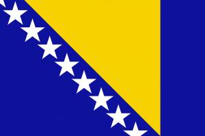 Drapeau Bosnie-Herzégovine