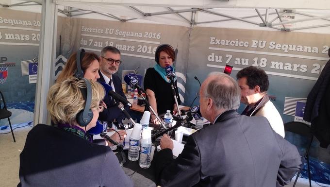 France Bleu 107.1 - Emission du 13/03/2016 - Sequana Crue de la Seine