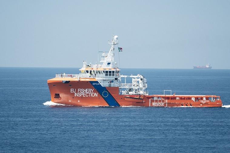 Opération Coastex - Crédits : Frontex